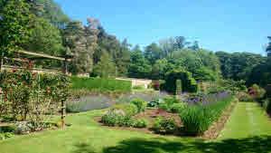 Wyedale Hall gardens