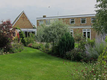Bishop Woodford Centre and garden in Ely